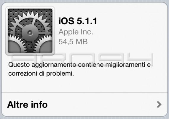iOS 5.1.1: dettagli e jailbreak