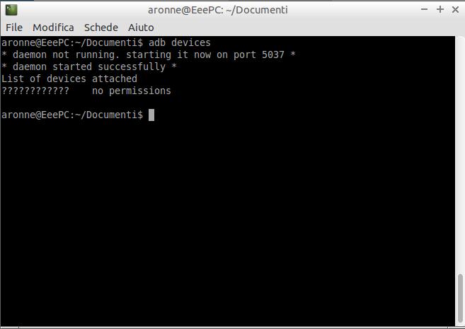 [GUIDA] Connettere via ADB un device Firefox OS ad un pc Ubuntu/Debian based