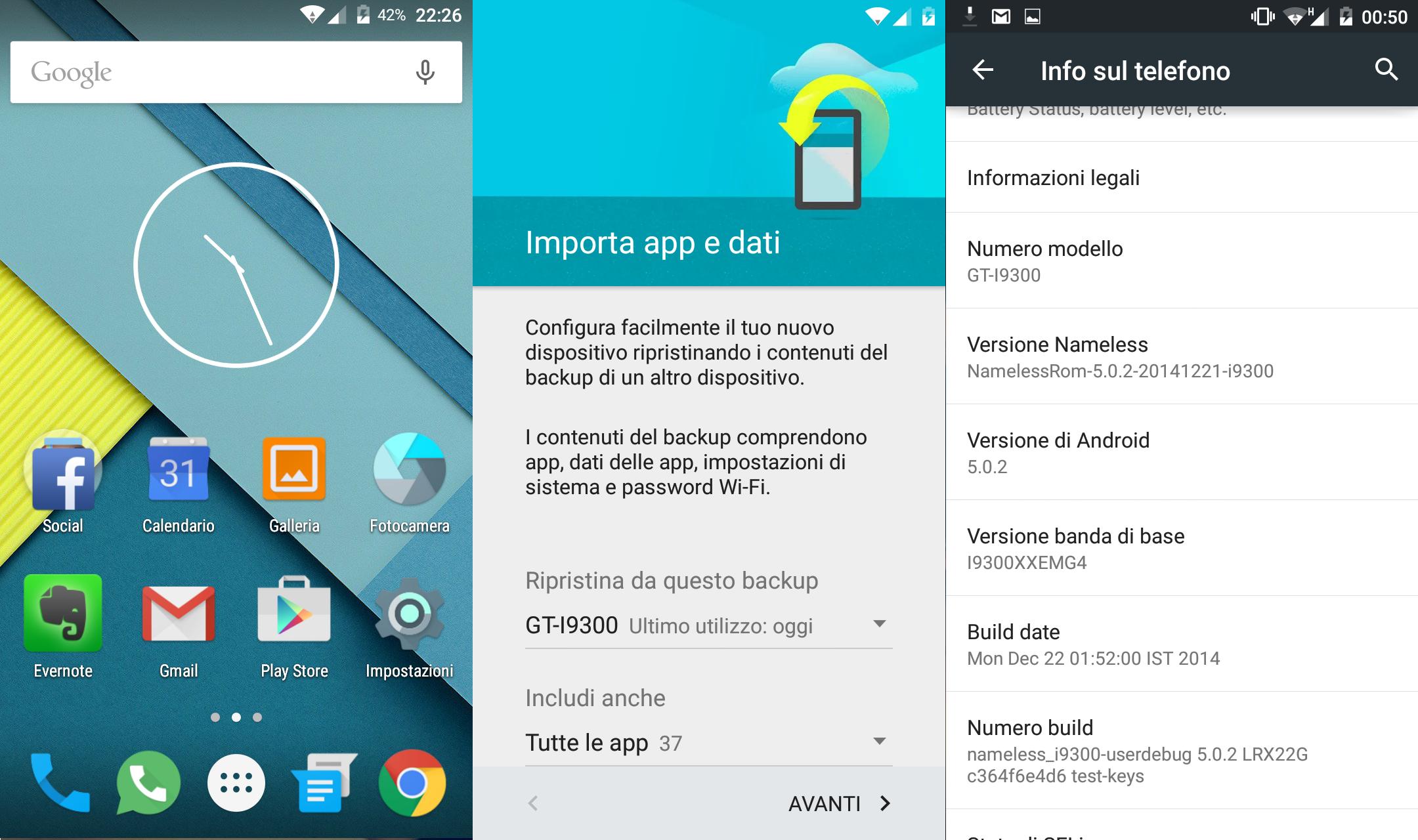 Samsung Galaxy S3 e il caso Lollipop [part. 2]
