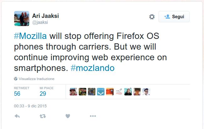 Firefox OS NON è morto